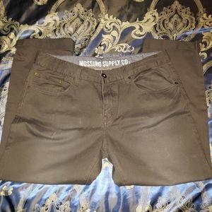 Never worn gray khaki  bootcut pants.